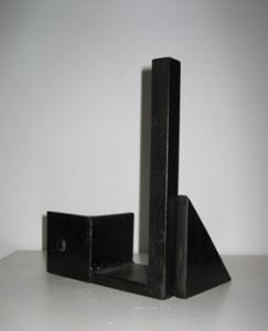 """Arquitectura infantil"". Hierro (material reciclado). 2008"