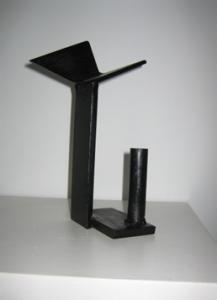 """""""Vuelo"""". Hierro (material reciclado). 2008"""