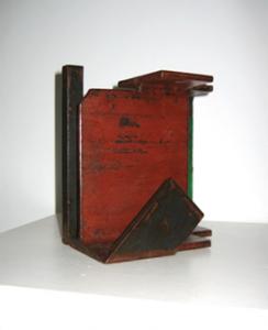"""""""Arquitectura industrial (I)"""". Hierro (material reciclado). 2009"""