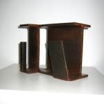 """""""Arquitectura industrial (II)"""". Hierro (material reciclado). 2009"""