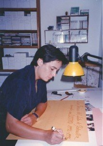 Concha Daud en el primer Estudio CoCa.