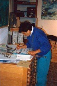 Concha Daud en el Estudio CoCa.